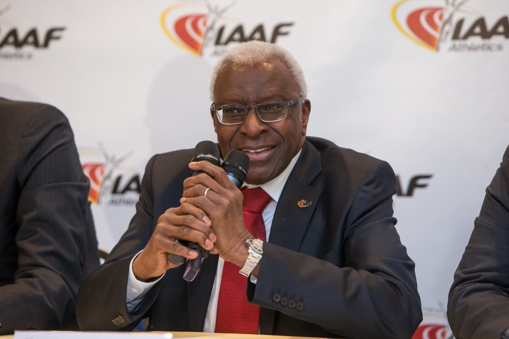 Lamine Diack still barred from leaving France as investigation continues