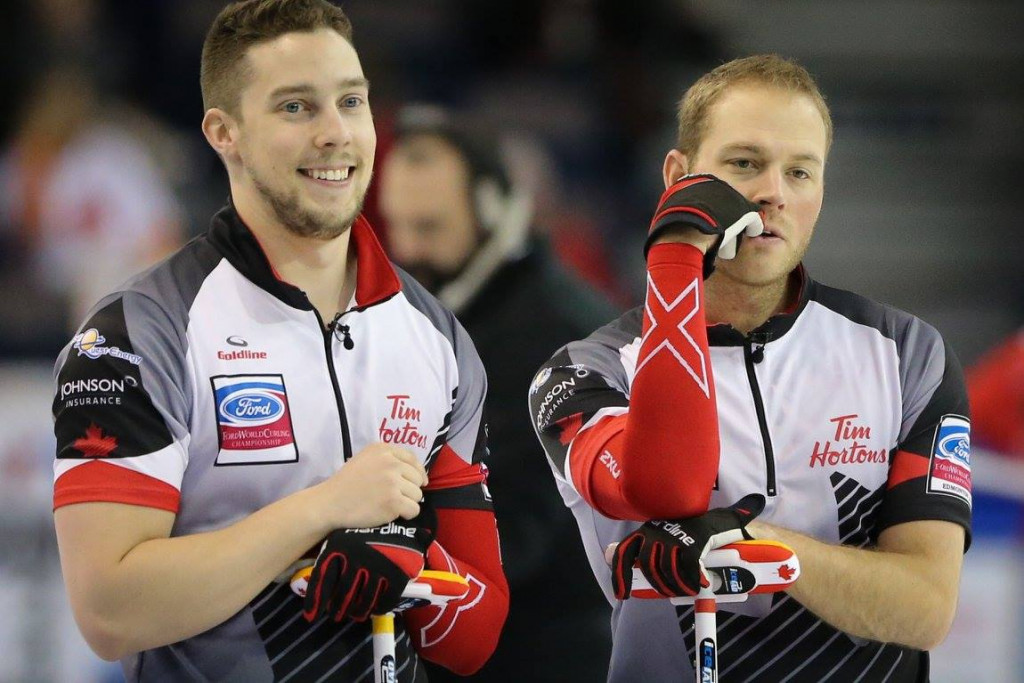 Canada maintain fine form at World Men's Curling Championship