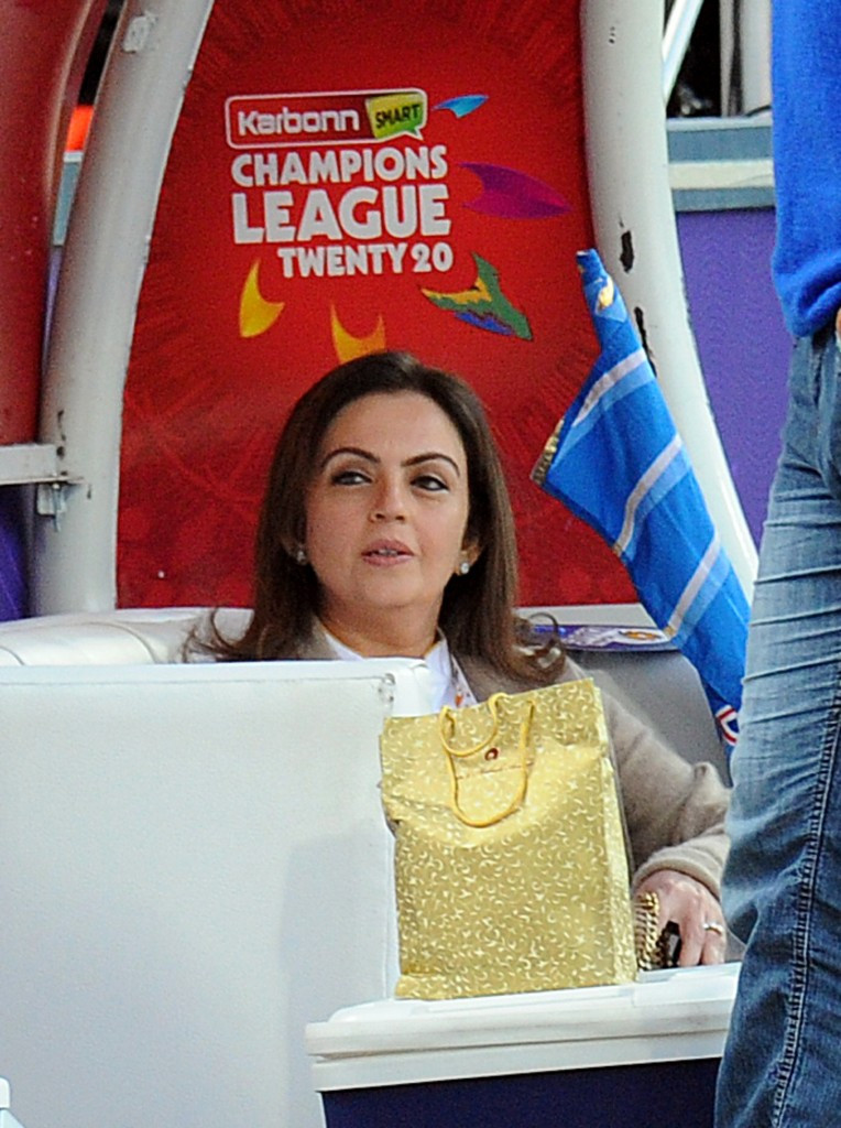 Nita Ambani, who owns the Mumbai Indians Twenty20 side, has been an IOC member  since 2016 ©Getty Images