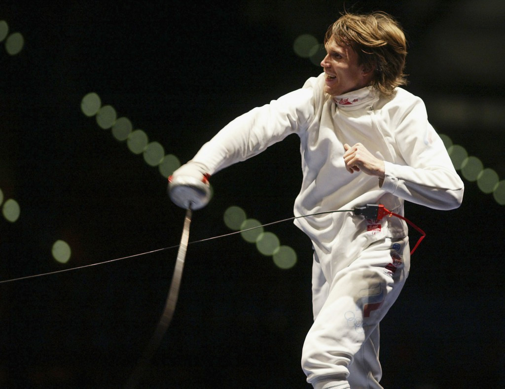 Pavel Kolobkov insists that he wanted to compete against the best athletes when he was an Olympic fencer ©Getty Images
