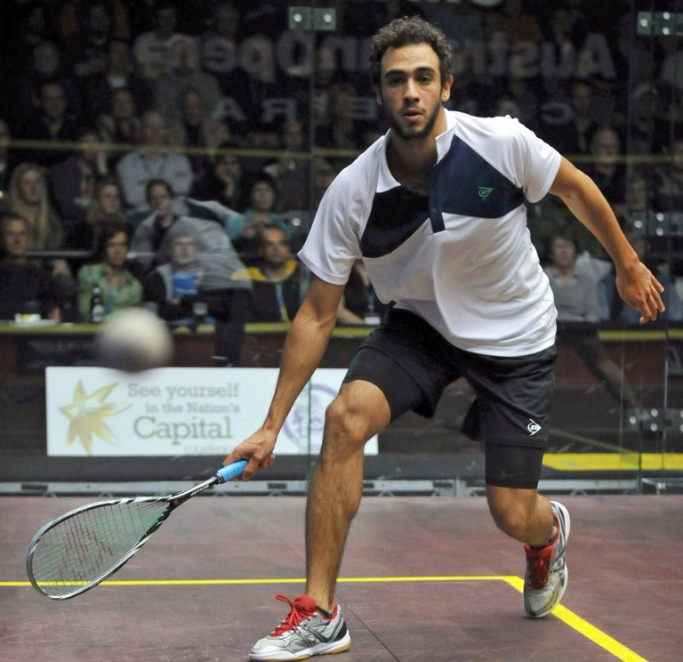 Ashour withdraws from El Gouna International Squash Open