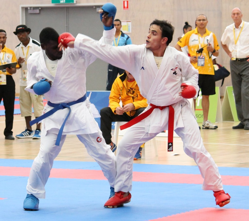 New Caledonia and Fiji display dominance on opening day of Pacific Games karate