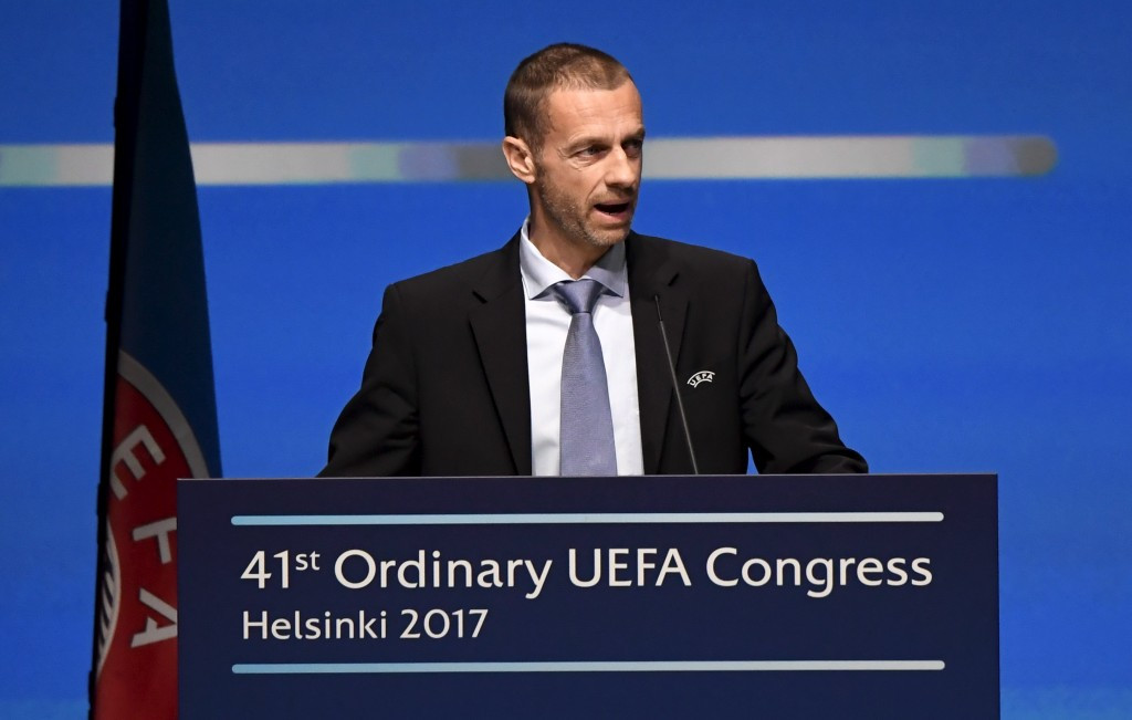 UEFA President Aleksander Ceferin warned he would not answer to