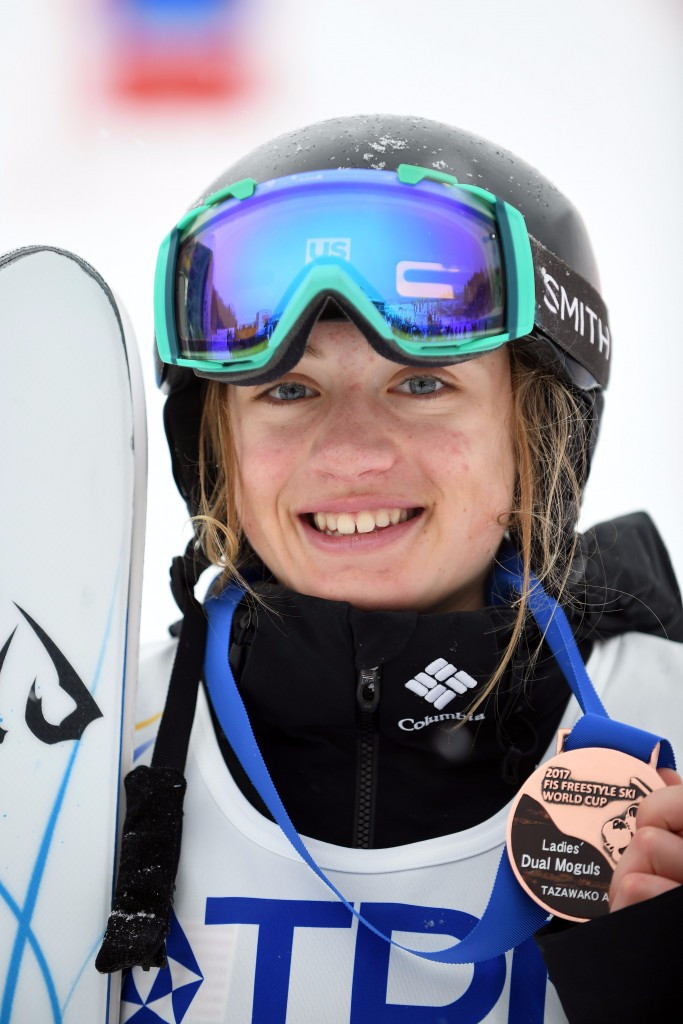 Giaccio wins dual moguls gold at FIS Junior Freestyle World Championships