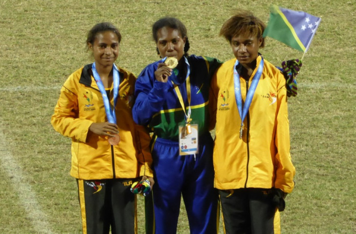 Solomon Islands claim gold as two Pacific Games records broken on opening day of Port Moresby 2015 athletics