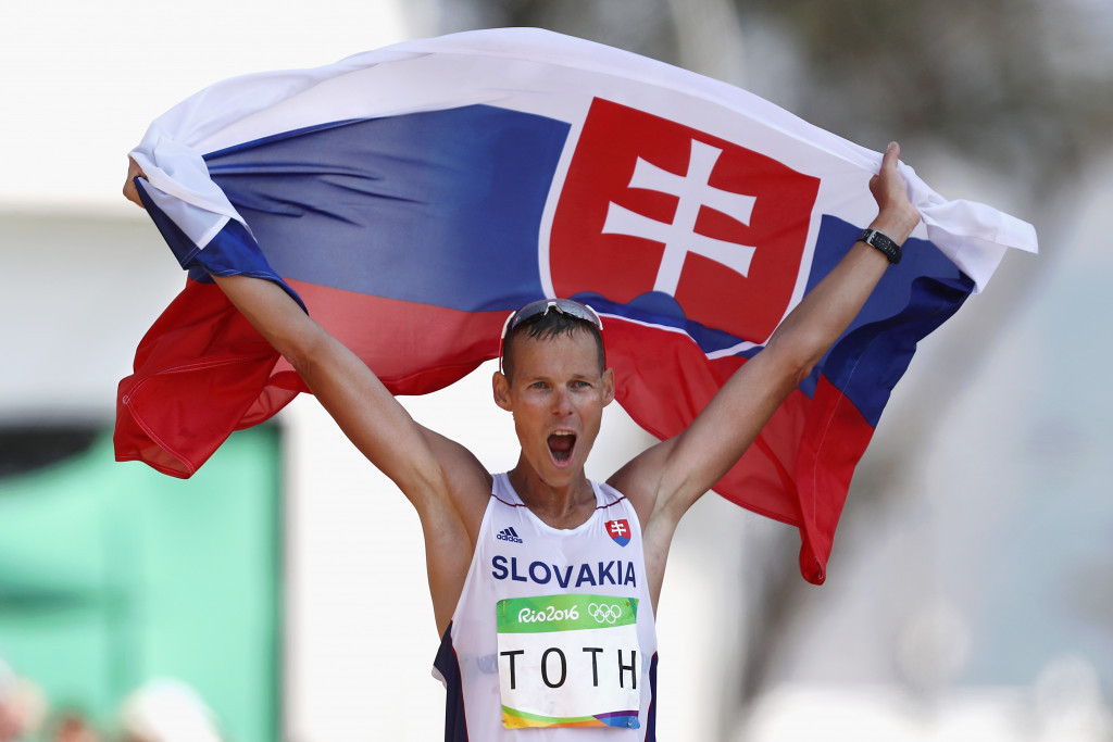 Olympic champion Matej Tóth is among those signing the letter ©Getty Images