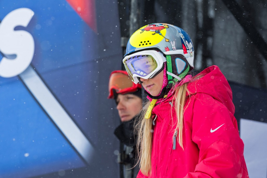 Kelly Sildaru won the women's slopestyle event in Valmalenco today ©Getty Images