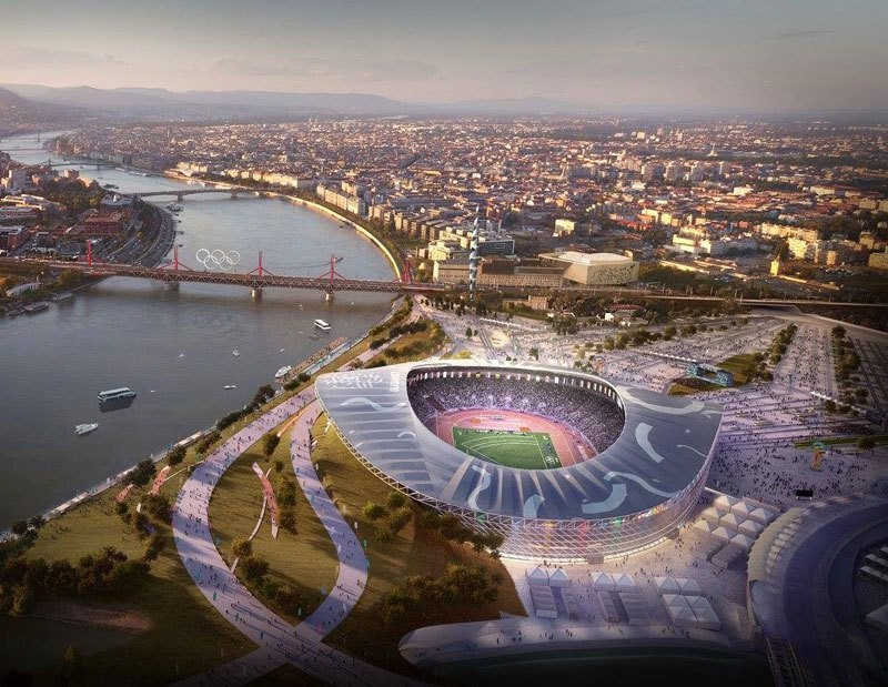 The IAAF World Championships would be staged in the Olympic Stadium if the city's bid is accepted ©Budapest 2024