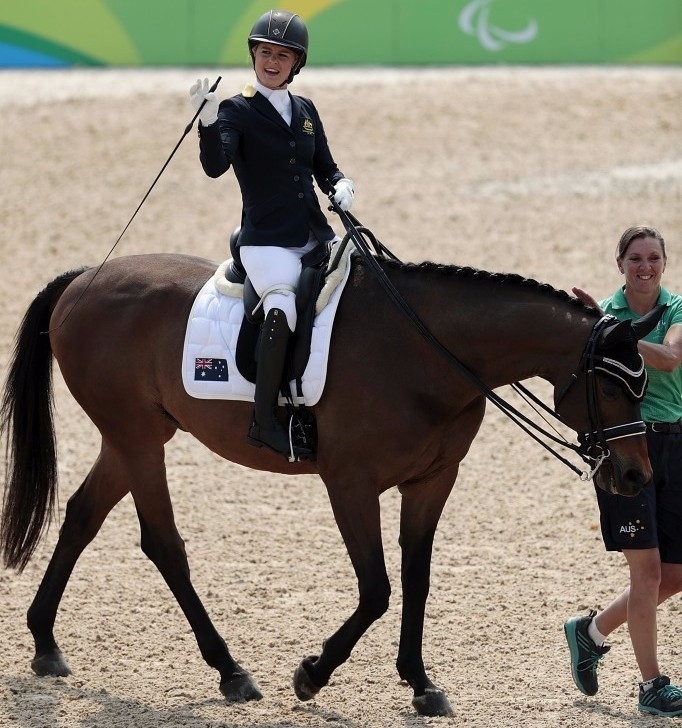 Booth hails impact Para-equestrian has had on her life