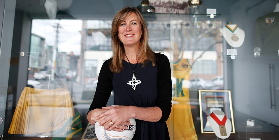 Netball Australia has appointed Marne Fechner as their new chief executive ©Netball Australia