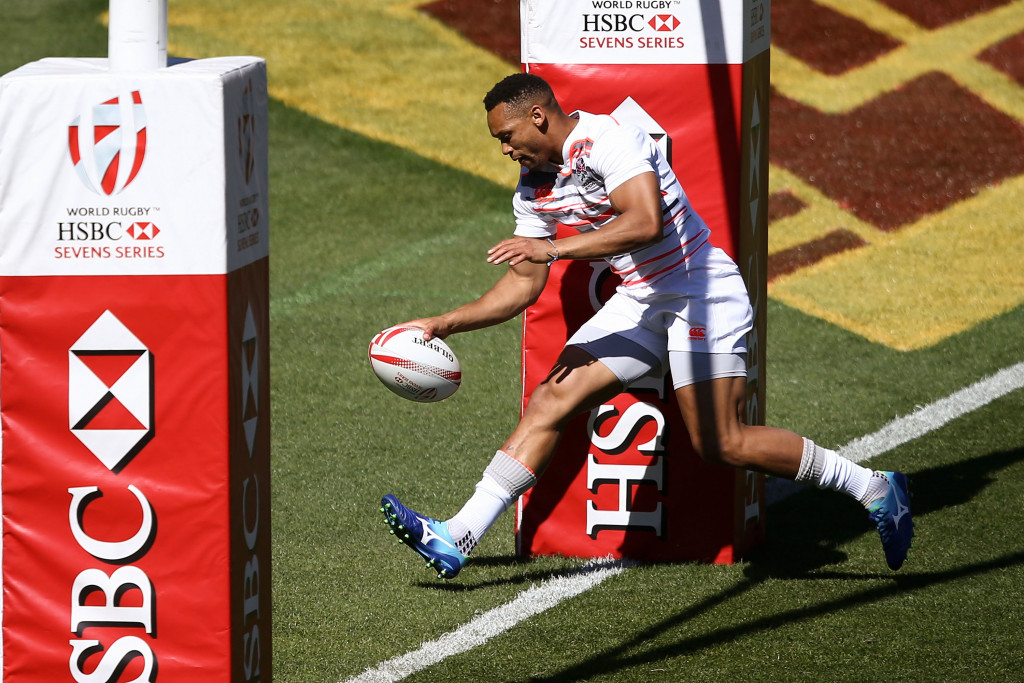 Norton breaks try scoring record at Hong Kong World Rugby Sevens Series