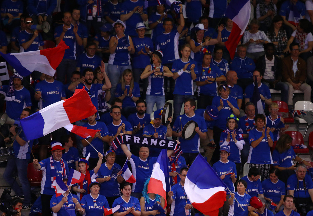 France take control of Davis Cup quarter-final with Britain