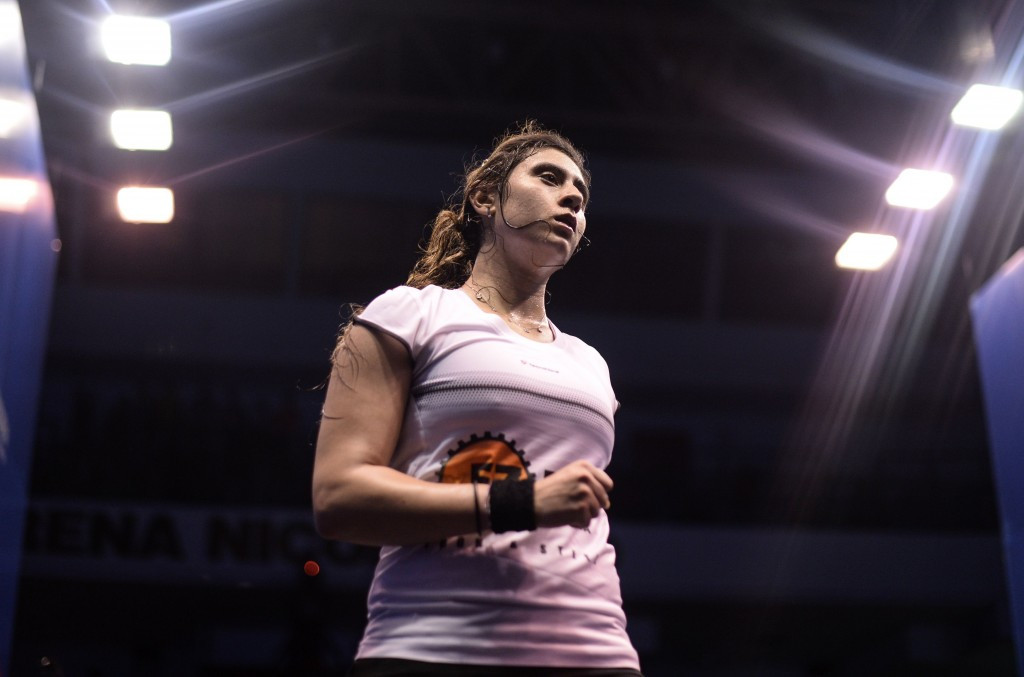 El Sherbini eases into round two of PSA Women's World Championship