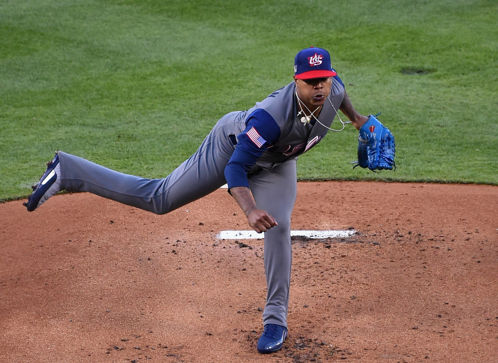 Marcus Stroman was a key player in the United States' World Baseball Classic triumph ©Getty Images