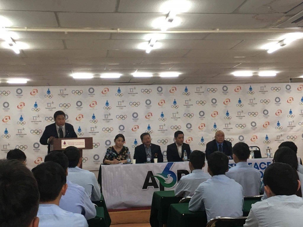 Mongolian NOC celebrates International Day of Sport for Development and Peace