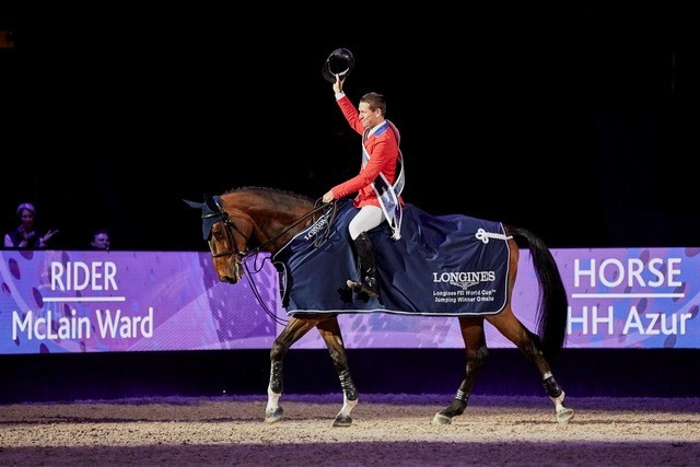 Newly-crowned FEI World Cup champion Ward reclaims top spot in global rankings