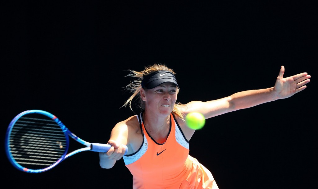 Maria Sharapova is due to return to action in Stuttgart on April 26 after completing her 15-month drugs ban ©Getty Images