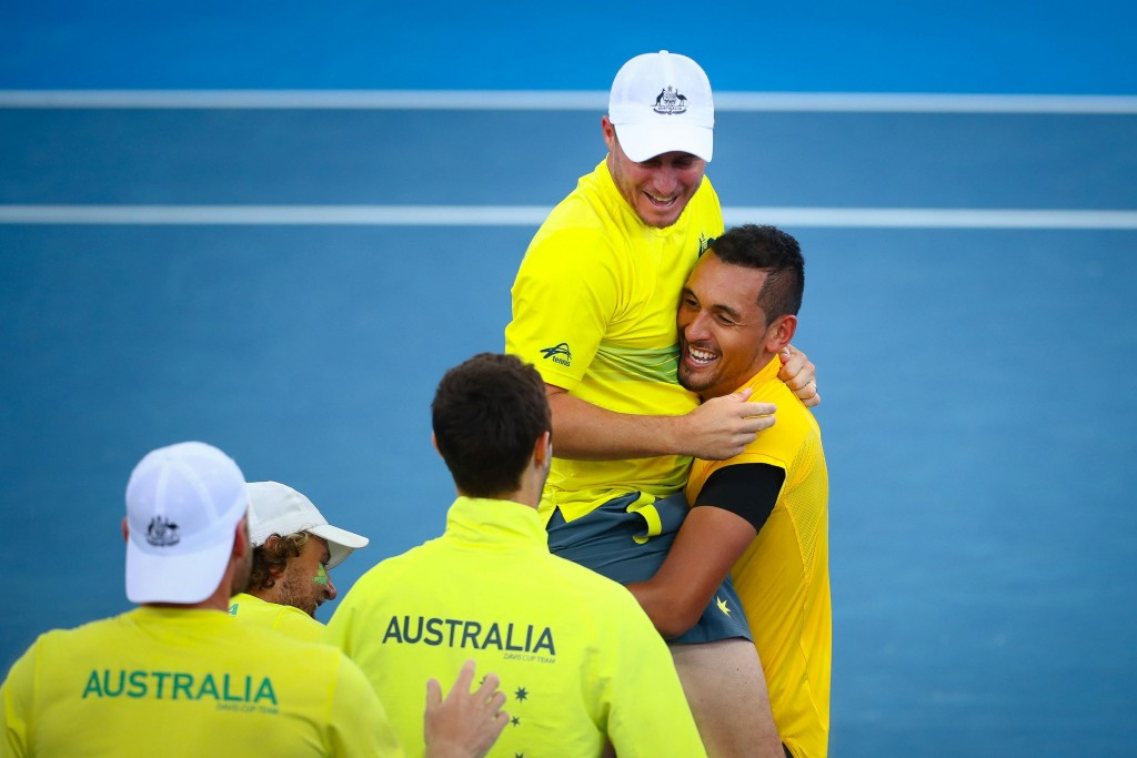 Australia are through to the semi-finals of the Davis Cup ©Getty Images