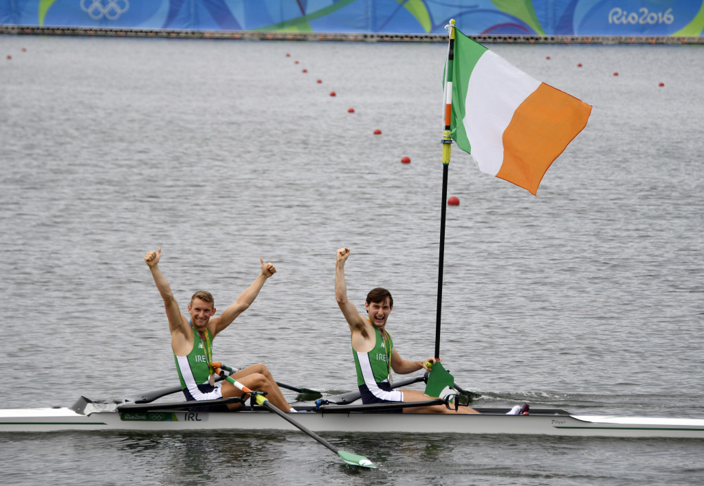 Rowing Ireland have earned a funding boost ©Getty Images