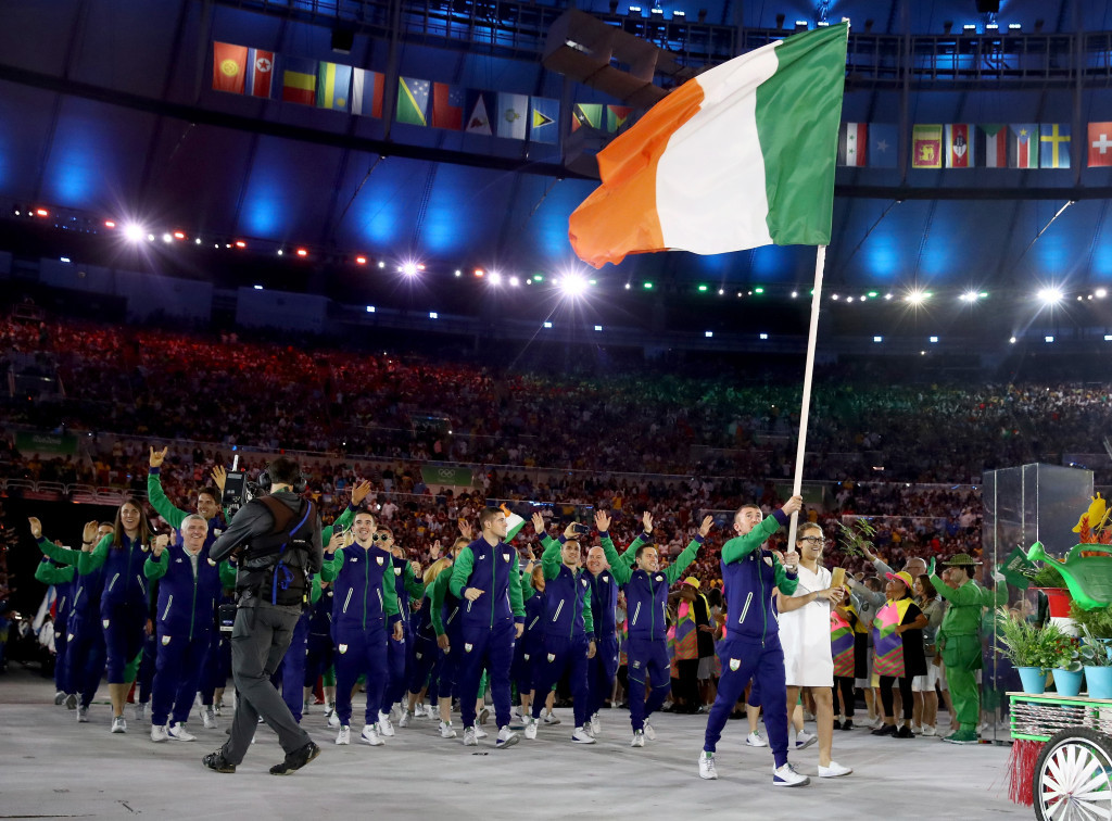 The OCI have pledged to work with Sport Ireland to aid the country's athletes ©Getty Images