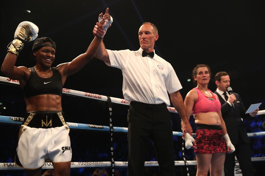 Adams claims points victory on professional debut