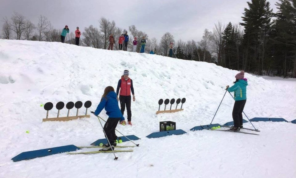 Participants were offered tips and up-close coaching ©IBU