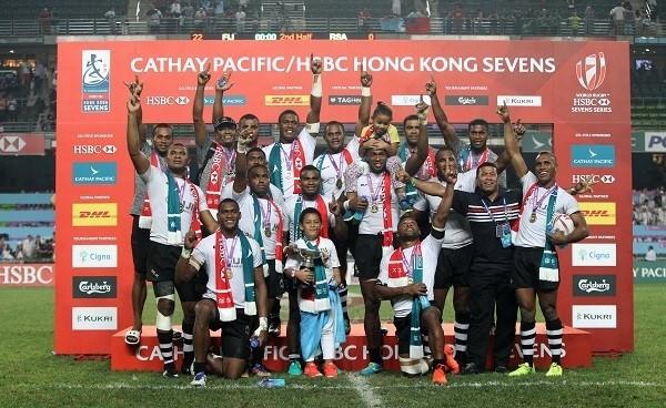 Fiji beat South Africa in Hong Kong Sevens final