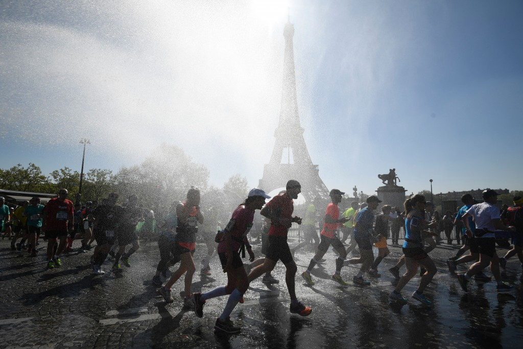A total of 57,000 runners participated in the Paris Marathon ©Getty Images