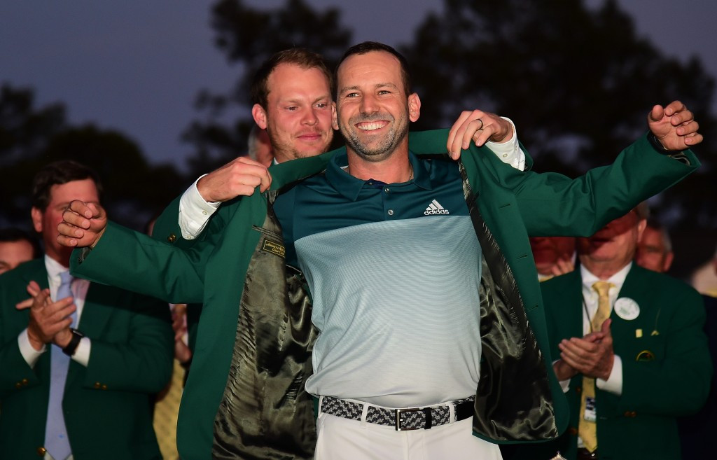 Sergio Garcia, pictured, won the Masters title following a play-off with Justin Rose ©Getty Images