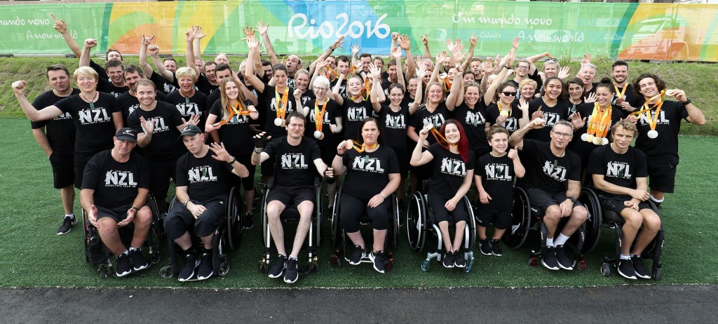 New Zealand enjoyed the country's most successful Paralympic Games for 32 years at Rio 2016 ©PNZ