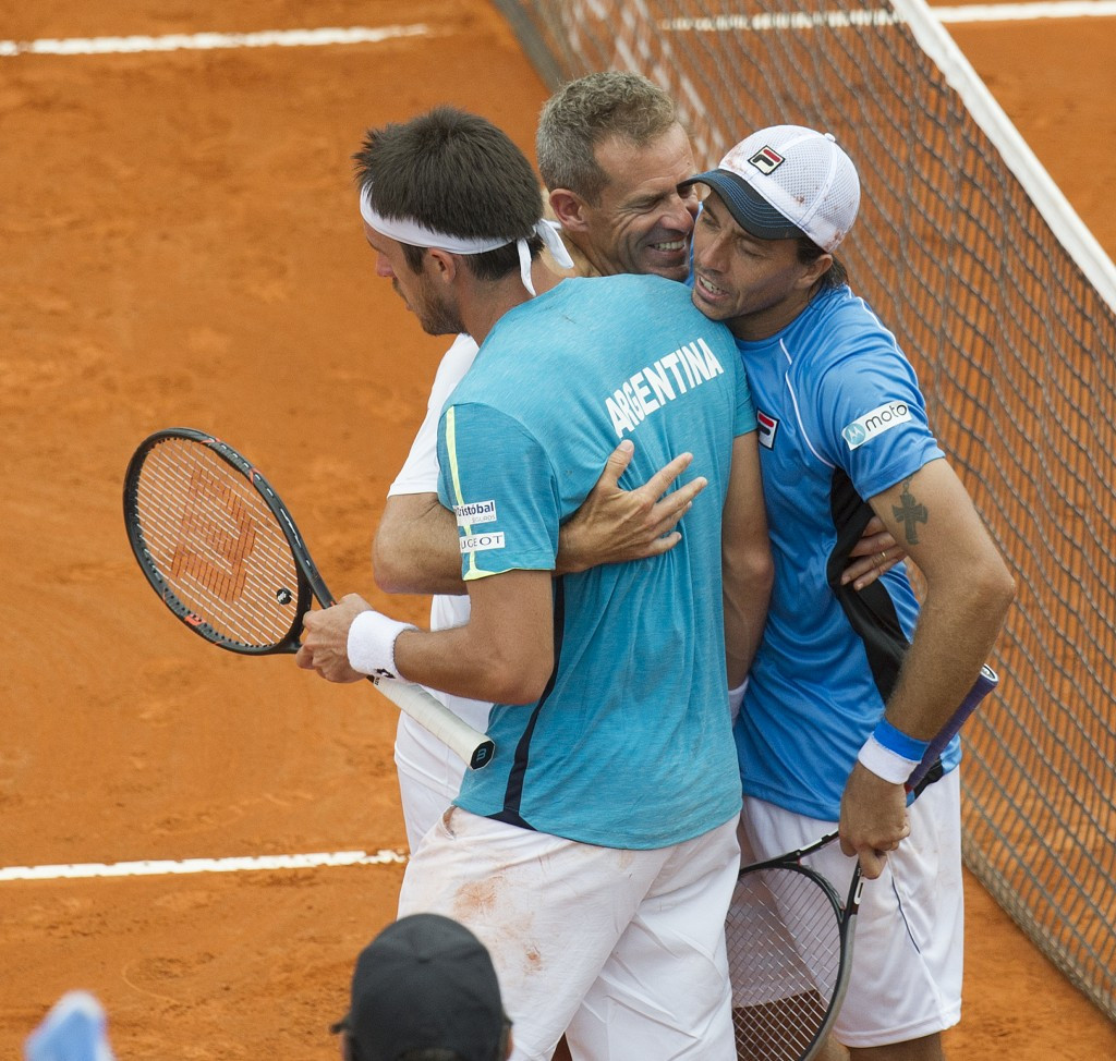 Argentina are one of eight seeded nations in the Davis Cup World Group play-offs draw ©Getty Images
