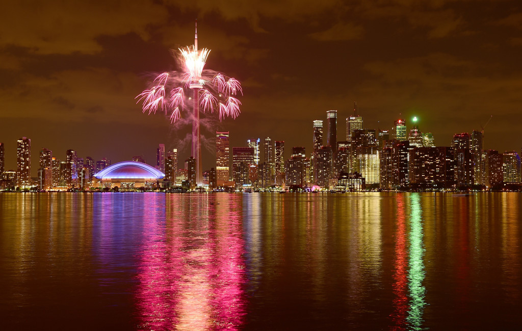 Toronto, which hosted the 2015 Pan American Games, was tied for second place in the poll with Liverpool ©Getty Images