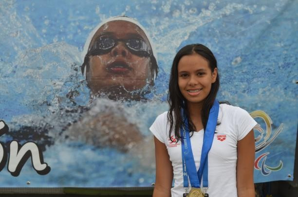Maria Paula Barrera has been named the Allianz IPC Athlete of the Month for March ©IPC