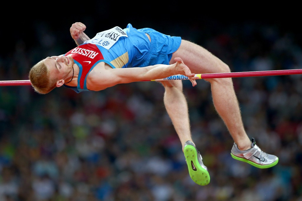 High jumper Daniil Tsyplakov is one of seven Russian athletes cleared by the International Association of Athletics Federations to compete under a neutral banner ©Getty Images