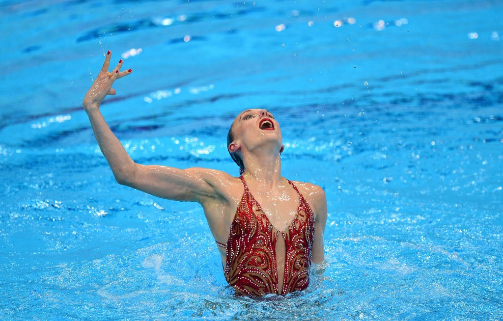 Natalia Ishchenko has retired from synchronised swimming ©Getty Images