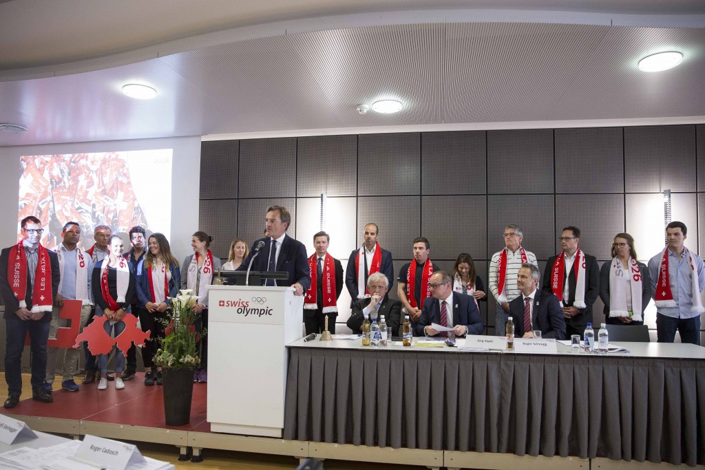 Sion confirmed as Swiss candidate for 2026 Winter Olympics and Paralympics