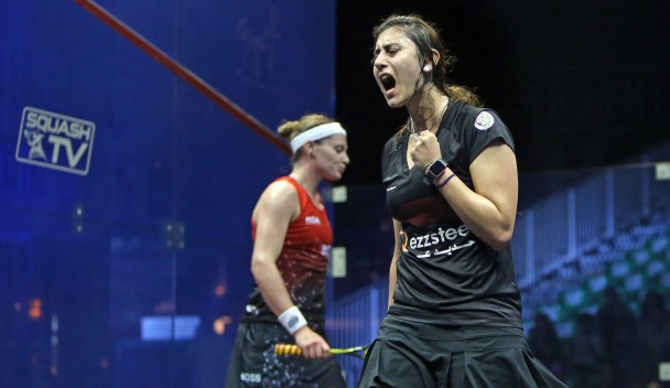 Egypt's Nour El Sherbini remains on course for a successful defence of her title ©PSA