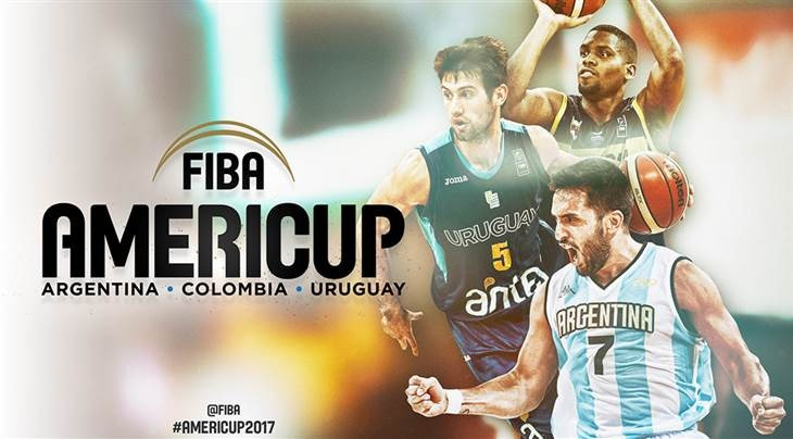 Argentina, Colombia and Uruguay to co-host FIBA AmeriCup 2017