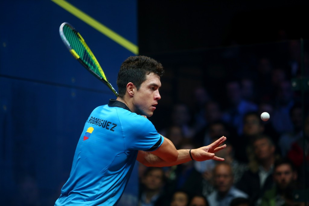 Rodriguez ruins Elias' dream run by winning Toronto 2015 Pan American Games squash gold