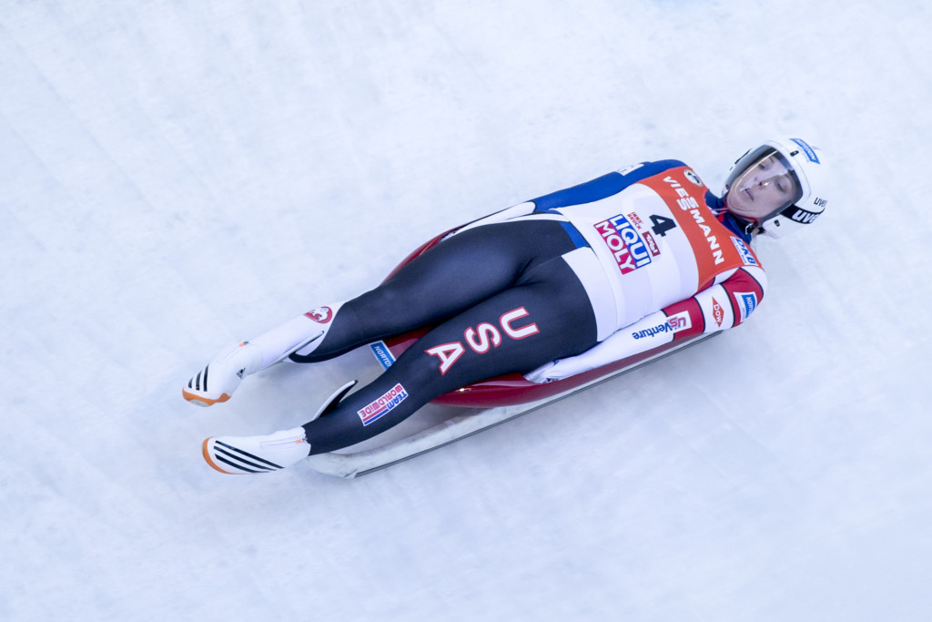Erin Hamlin won an Olympic bronze medal in luge for the United States at Sochi 2014 ©Getty Images