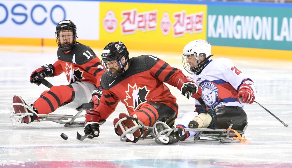 Canada were winners on day one of the World Para Ice Hockey Championships A-Pool, beating Norway 9-0 at Gangneung Hockey Centre in a test event for Pyeongchang 2018 ©IPC/Flickr