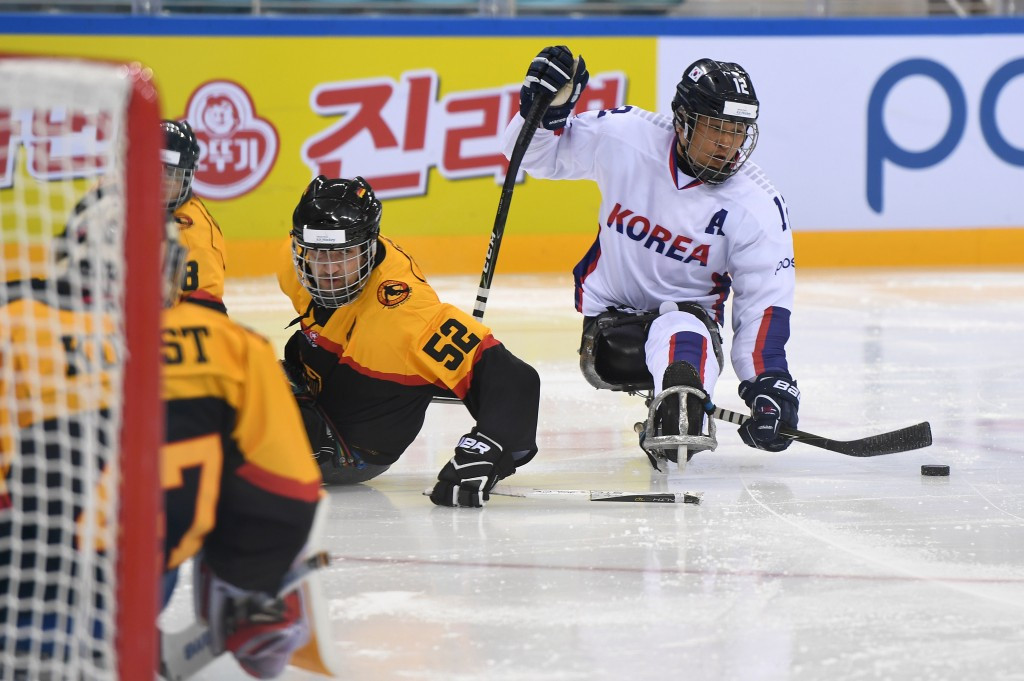 South Korea make perfect start to World Para Ice Hockey Championships in Gangneung