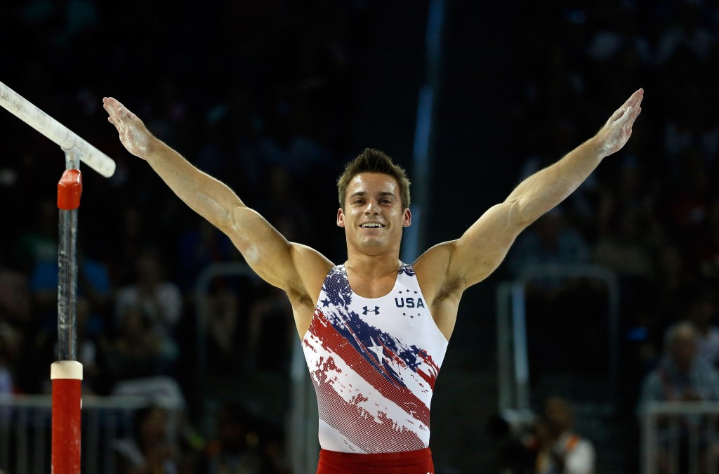 Samuel Mikulak became the first American for 28 years to win men's all round gynmastics Pan American Games gold