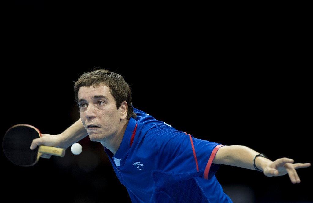 France's Pascal Pereira-Leal is the men's world number one in the Inas table tennis rankigs ©Getty Images