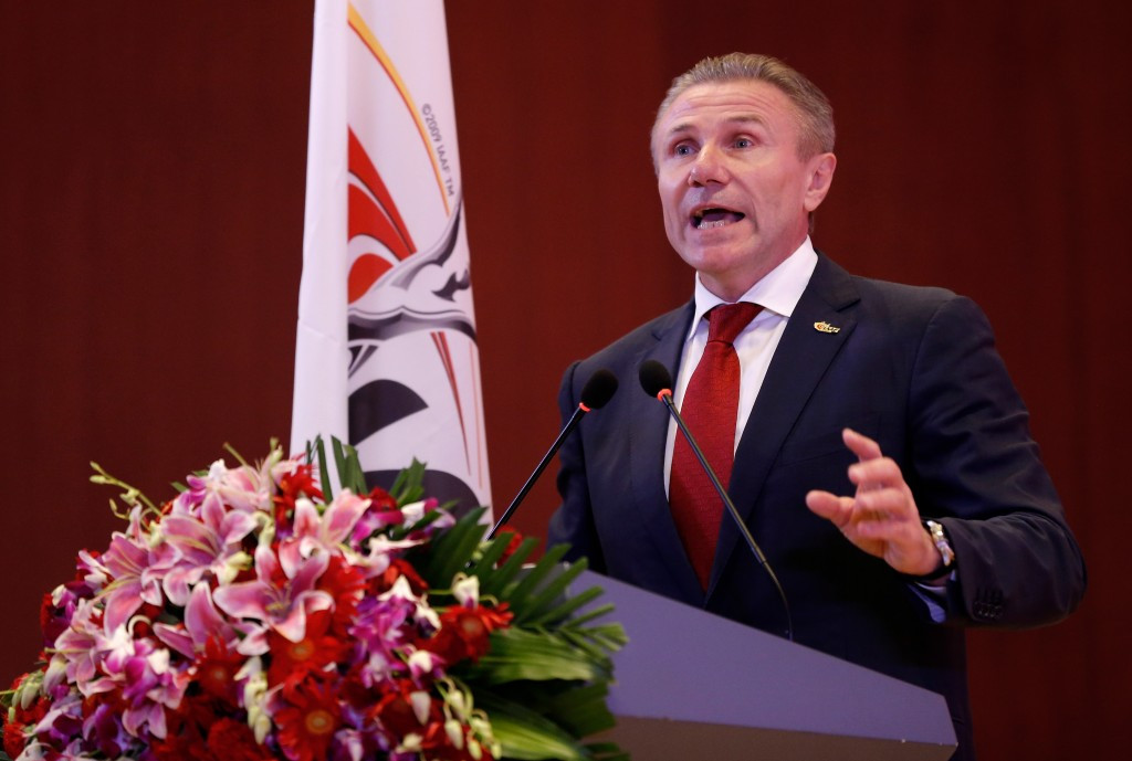 Ukraine did not back IAAF President Sebastian Coe's reforms last December, even though Sergey Bubka is the world governing body's senior vice-president ©Getty Images