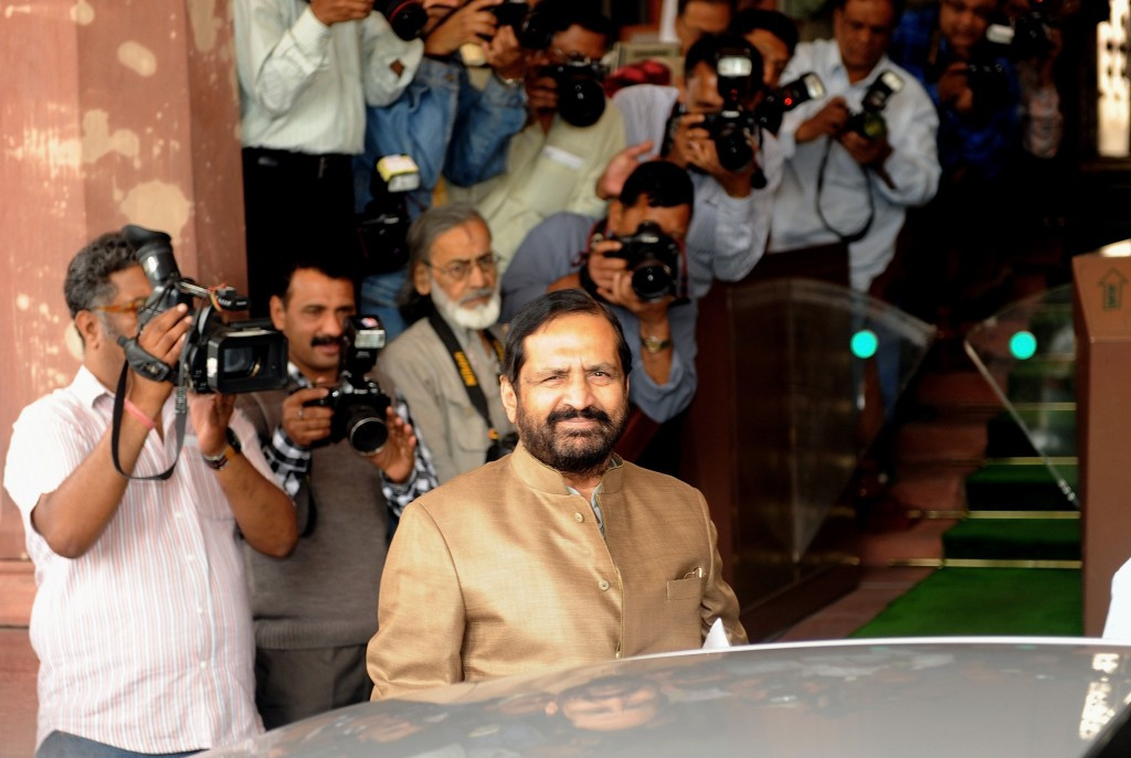 Delhi 2010 chairman Suresh Kalmadi was implicated in the corruption scandal linked to the Commonwealth Games and held in prison for 10 months in 2011 and 2012 ©Getty Images