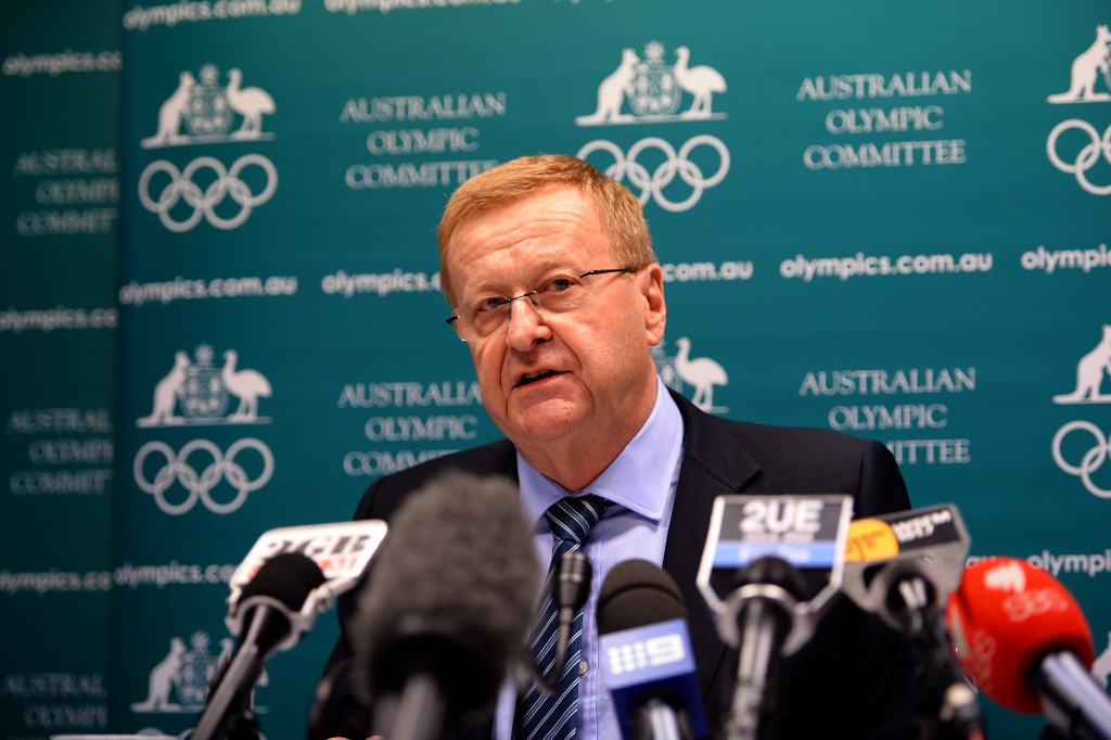 Australian Olympic Committee President John Coates is being challenged for the top job by Danielle Roche ©Getty Images