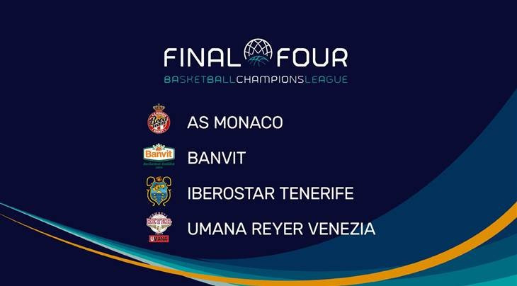 Tenerife to host 2017 Basketball Champions League Final Four
