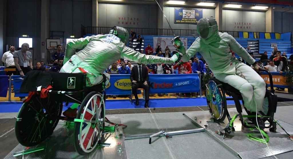 IWAS hope the new event will improve the international pathway for wheelchair fencers ©IWAS