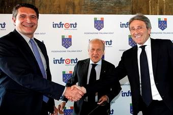 Rome has secured its hosting rights for the 2022 Ryder Cup after the Italian Golf Federation signed an 11-year agreement with Infront Sports & Media today ©Infront Sports & Media